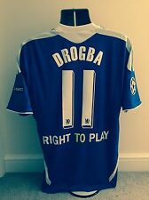 CHELSEA 2012 CHAMPIONS LEAGUE FINAL FOOTBALL SHIRT DROGBA