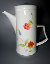 Mikasa Just Flowers A4182 Coffeepot and Lid (holds 6 cups)