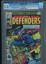 Defenders #63 CGC 9.6 (1978) Doctor Strange Iron Fist Nova Captain Marvel