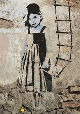 Mapa: street art-Little Girl, Barcelona