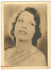 MARGUERITE CHURCHILL AUTOGRAPH PHOTO-CIRCA 1930s-RARE 5X7 SEPIA-THE BIG TRAIL
