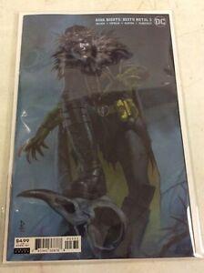 DARK NIGHTS DEATH METAL #3 FEDERICI VARIANT COVER ROBIN KING