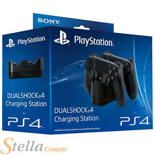 Sony PlayStation DualShock 4 Estación de carga PS4 controlador doble base