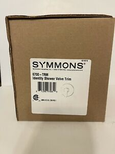 Symmons 6700-TRM Identity Shower Handle Valve Trim ONLY ZINC