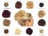 .Koko XL Curly Messy Bun Hair Piece Scrunchie - Choose Your Shade