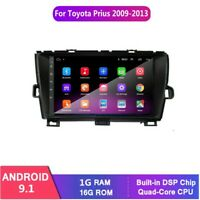 Android 9.1 Car DVD Radio GPS Navi Stereo Player For Toyota Prius 2009-2013 Left