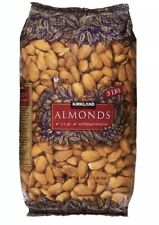 Kirkland Signature Almonds U.S. #1 Supreme Whole 3 lb Large Bag (48 oz)