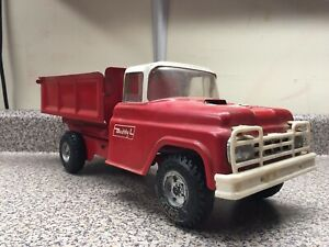 Buddy L Dump Truck With Furniture Safe Bumper Sticker Still On Hood *NO RESERVE*