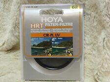 Hoya 62mm Circular Polariser HRT Cir-PL UV absorbing Filter-