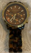 Michael Kors Oversized Tortoise Wrist Watch for Women  MK5216