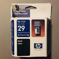 HP 29 Ink Print Cartridges Black 51629A GENIUNE NEW SEALED Box