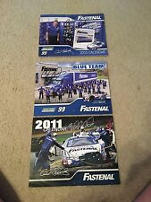 NASCAR Calendars signed by Carl Edwards 2011, 2012 & 2013. Get all 3!!