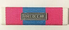 Rappel de Médaille DEFNAT Défense Nationale ARGENT avec agrafe ARMÉE DE L'AIR