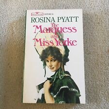 ROSINA PYATT. THE MARQUESS AND MISS YORKE. SOFTCOVER BOOK. HISTORICAL