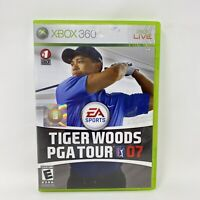 Tiger Woods PGA Tour 07 (Microsoft Xbox 360, 2006) Complete Tested Working