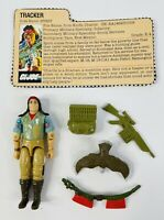 GI Joe ARAH 1984 Spirit Tracker Complete w/File Card Nice Figure Unbroken Feet!