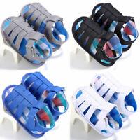 Prewalker Baby Girl boy Infant Kids Soft Sole Crib Toddler Newborn Sandals