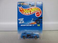 Hot Wheels Nissan Custom Z Light Blue No 600