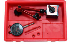 "SHARS 1"" DIAL INDICATOR 0.0005"" W/ MAGNETIC BASE KIT NEW"