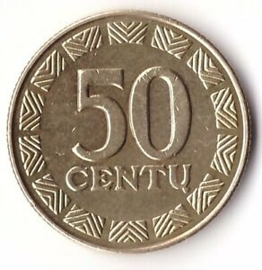 50 Centu 1999 Lithuania Coin KM#108