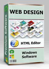 Web Design Software | HTML Editor | WYSIWYG | CSS | Webseite Homepage erstellen
