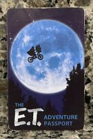 UNIVERSAL STUDIOS ORLANDO THE E.T. ADVENTURE PASSPORT PHONE HOME CARD VHTF