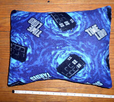 New * Doctor Who * The Tardis* Fleece Fabric Pillow Handmade by me in the U.S.A.