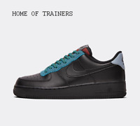 Nike Air Force 1 '07 LV8 4 Black Black Obsidian Men's Trainers All Sizes