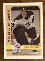 1991-92 OPC OPEECHEE Gerry Cheevers Alternate Rookie - MT