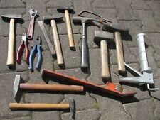 Werkzeug Konvolut Hammer Meisel Durchschlag Engländer usw.