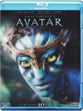 AVATAR Full Slip 3D+2D BLURAY +DVD  *REGION FREE