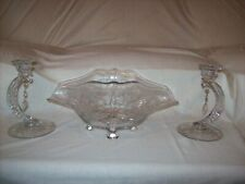 Cambridge Portia Console Bowl and Candle Holders