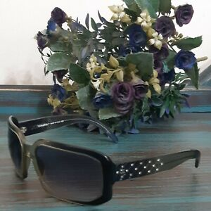 CHANEL Gradient Lenses CC Logo Crystal Quilted Sunglasses 5063-B