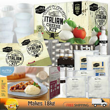 MAD MILLIE CHEESE MAKING KIT [ITALIAN] + REFILL ~MAKES 18kg~ BEGINNERS