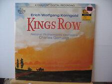 Erich Wolfgang Korngold KINGS ROW Original Score CHALFONT DIGITAL VINYL LP