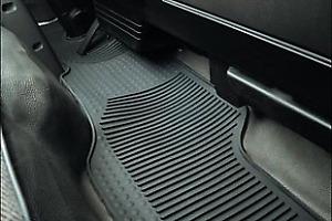 Black Coverking Custom Fit Front Floor Mats for Select Isuzu Trooper Models Nylon Carpet