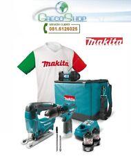 Kit Trapano avvitatore+Seghetto alternativo+Radio+Maglia 10,8V Makita DK1496X1