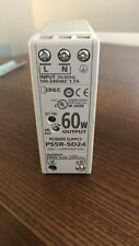 Idec PS5R-SD24 Power Supply, Input: 100-240VAC 1.7A, Output: 24VDC 2.5A 60W