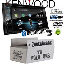 Kenwood Radio für VW Polo 9N3 DDX4017DAB Bluetooth DAB+ Digital DVD USB CD Set