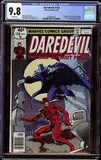 Daredevil # 158 CGC 9.8 White (Marvel, 1979) 1st Frank Miller on series