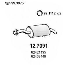 MARMITTA TERMINALE FIAT CROMA 2.0 TURMO I.E.DAL 1985 AL 1996 82462446