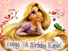TANGLED Custom Edible CAKE Image Icing Topper Rapunzel