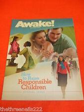 AWAKE! - HOW TO RAISE RESPONSIBLE CHILDREN - OCT 2011