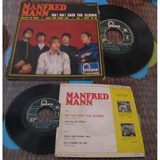 MANFRED MANN - Ha!Ha!Said The Clown+3 French EP Freakbeat  67
