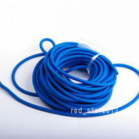 Blue Outdoor Tube Φ5mm*2.5m Replacement Band f Hunting Sling Shot Slings Rubber