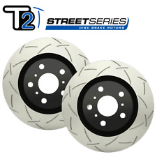 DBA Street Series T2 Slotted Rear Rotors (PAIR) for Pontiac 05 GTO 2021S