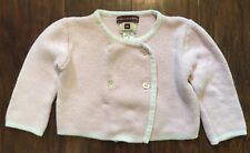 Tea Collection Baby Girls 12m Pink Chinese Cardigan Sweater Jacket PIMA COTTON
