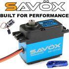 Mega Combo - Savox SW-1211SG Waterproof Servo + Glitch Buster + Aluminun Horn