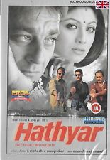 HATHYAR - SANJAY DUTT - SHILPA SHETTY - NEW BOLLYWOOD DVD - FREE UK POST
