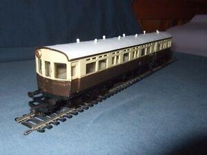 OO gauge Airfix Railways GWR Autocoach Didcot, Choc/Cream